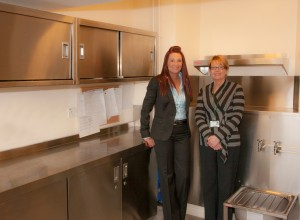 Ashgate Hospice Gets new Housekeepers Room Fit Out from Franke Sissons  April 2012