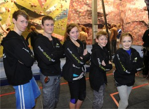 Craggy Island Youth Climbing Team