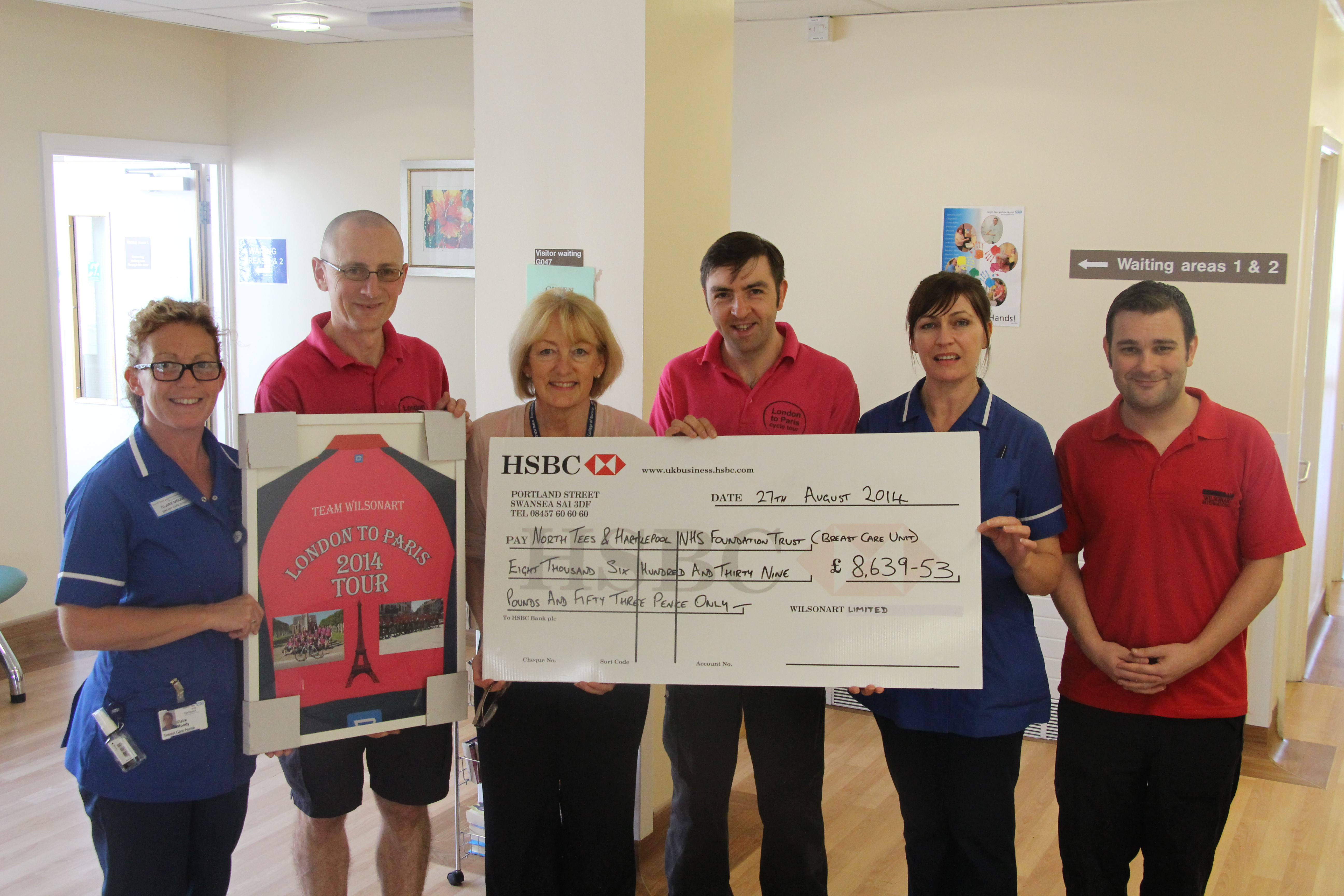 GRUELING THREE DAY CHARITY CHALLENGE RAISES MORE THAN TARGET