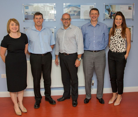 Franke Sissons Management Team to Climb Snowden for Three Cancer Charities