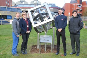 FWS Sculpture for Chesterfield