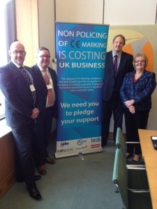 Toby Perkins Attends Drop In Session at Westminster