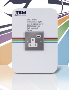 TBM New USB Charger – straight on