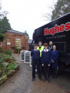 Hughes and Amica Donate Cookers to School January 2016