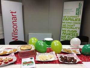 Cake Sale at Wilsonart Head Office