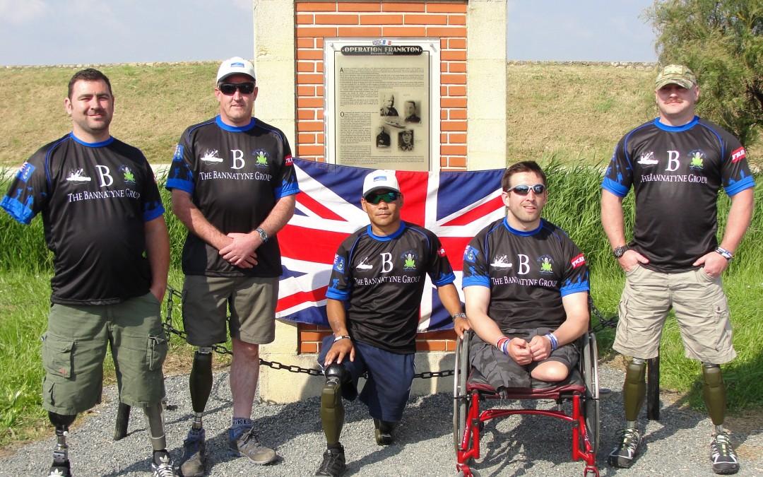 Amputee Ex Servicemen to Kayak Around Isle of Wight to Set New Record