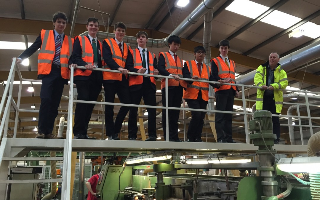 Durham School Visits Wilsonart as Part of GCSE Studies