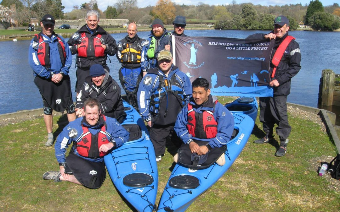 Amputees from Armed Forces and Emergency Services Offered Training for Formal Kayaking Qualification