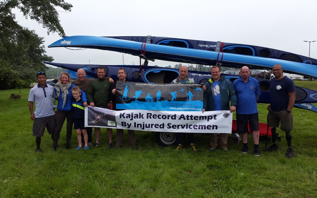 Amputee Ex-Servicemen Set New Record for Circumnavigating Isle of Wight
