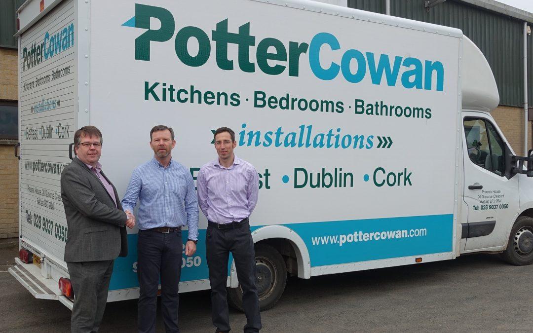 IRELAND'S POTTER COWAN JOIN  WILSONART UK'S DISTRIBUTOR LINE UP