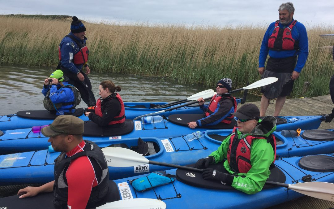 Nine Injured Soldiers to Retrace Epic WW2 Kayak Mission