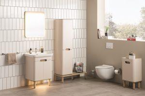 Sento Bathroom Furniture from VitrA – cream