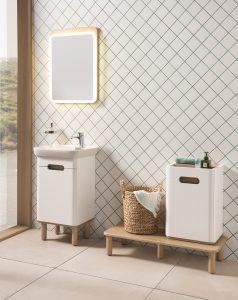 Sento Bathroom Furniture from VitrA – white