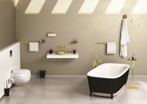 Eternity bathroom accessories designed by Sebastian Conran for VitrA