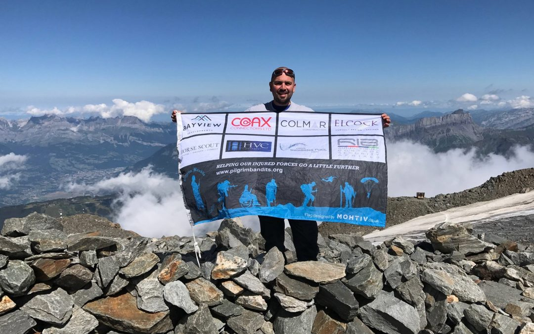 Dorset Businessman Climbs Mont Blanc for Pilgrim Bandits Charity