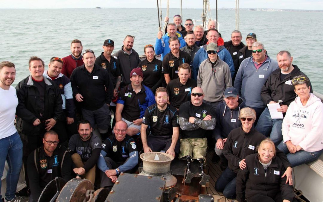 Pilgrim Bandits Take Forces Amputees Sailing with Jubilee Sailing Trust.