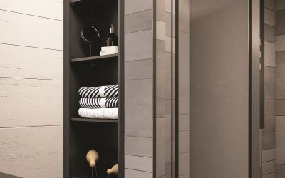 Louvre-style in the Frame for Bathroom Furniture from VitrA