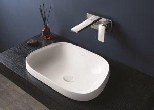 VitrA6209 TV Frame basin in matt white