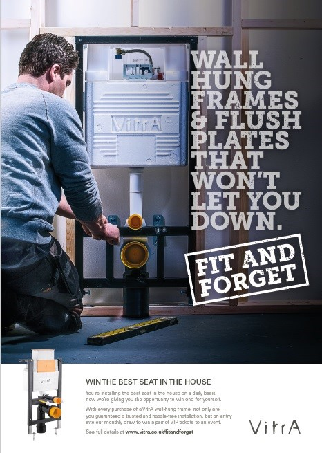 FIT & FORGET Campaign Launch For In-wall Systems Addresses Consumer Doubt