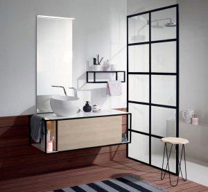 burgbad Junit wash basin and vanity unit