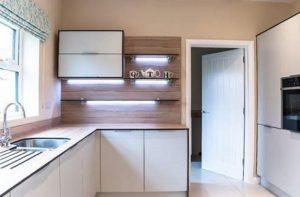 QTH Kitchen using Zenith from Wilsonart