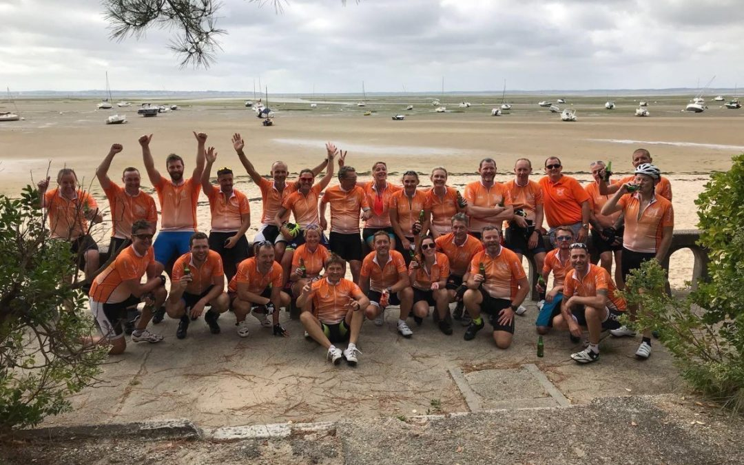 Group Pedal Power by Wilsonart Raises Funds for Autism Charity