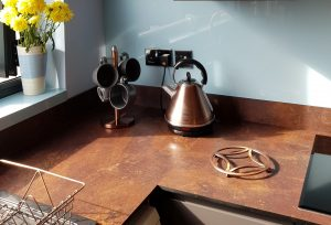 Bowman Harris Linked In Kitchen using Zenith worktops