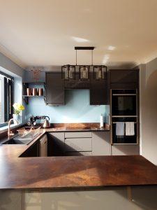 Wilsonart Zenith Rouille Tops Off Stunning Copper Kitchen Transformation.