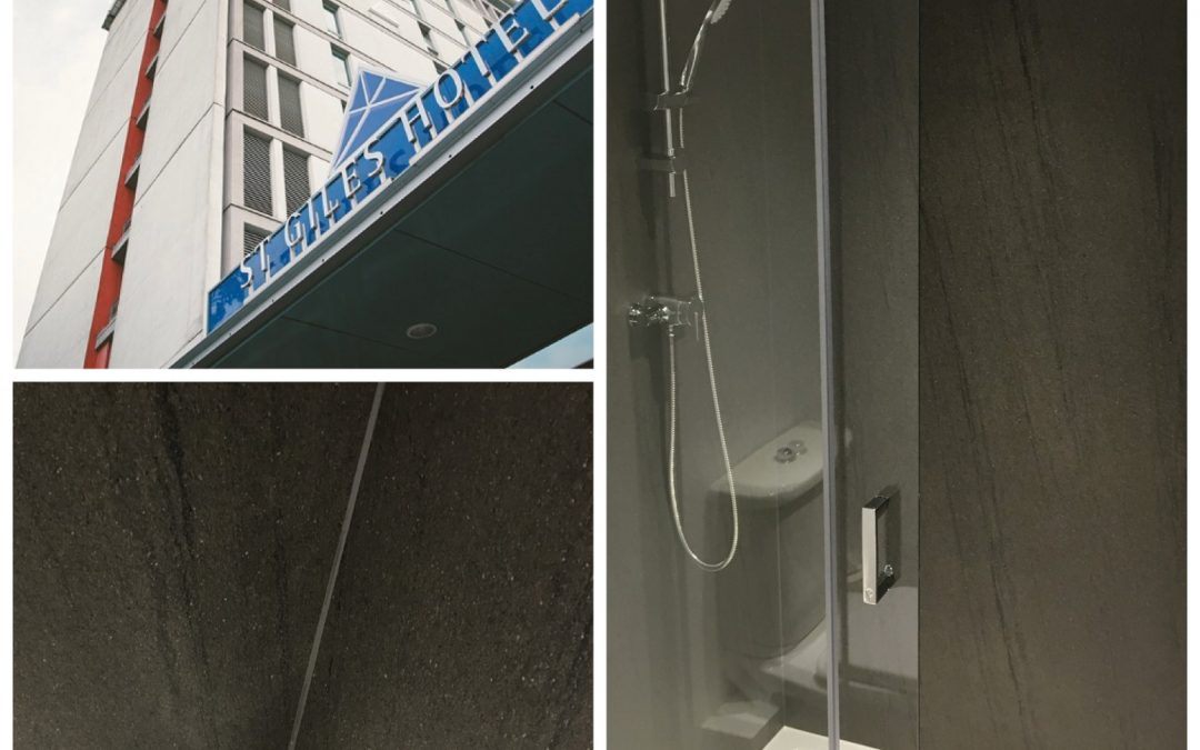FILETURN USES NUANCE BATHROOM PANELS FOR HOTEL SPECIFICATION