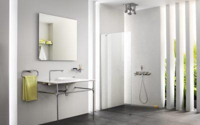 Minimalist Vanity Basin, WC & Electronic-Flush Urinal for Istanbul.