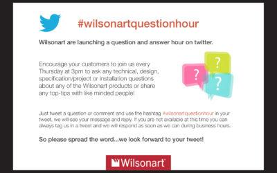 Wilsonart Launch #wilsonartquestionhour