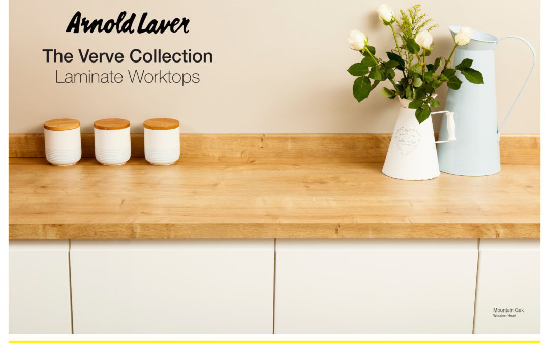 WILSONART CREATE THE VERVE COLLECTION FOR ARNOLD LAVER