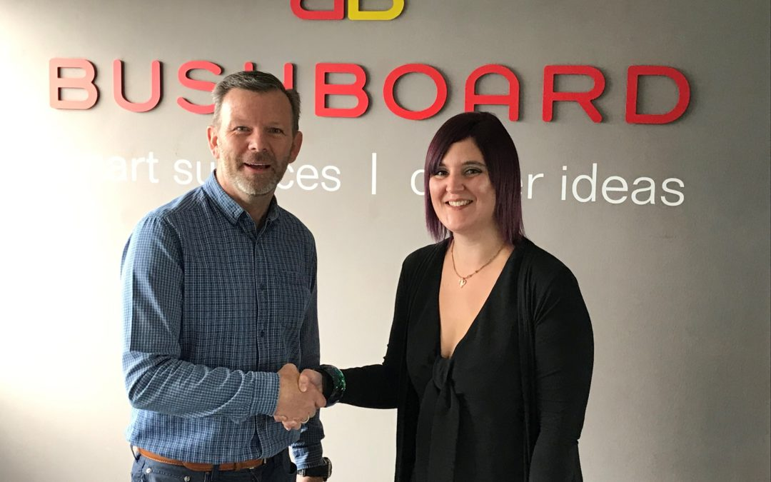 Bushboard Appoint New Key Account Manager