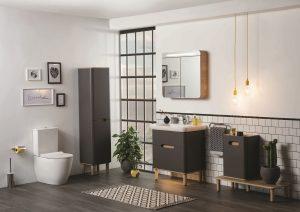 Sento Bathroom Furniture from VitrA – anthracite